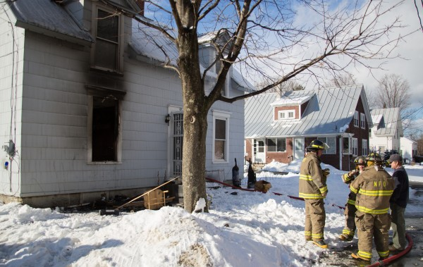 Newport Fire and Rescue responded to a fire at a house fire on Water Street on Thursday, Jan. 17. No people were reported in the residence during the fire.