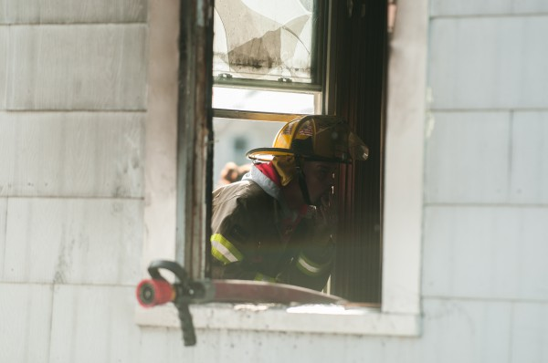 Newport Fire and Rescue responded to a fire at a house fire on Water Street on Thursday, Jan. 17. No people were in the residence during the fire.