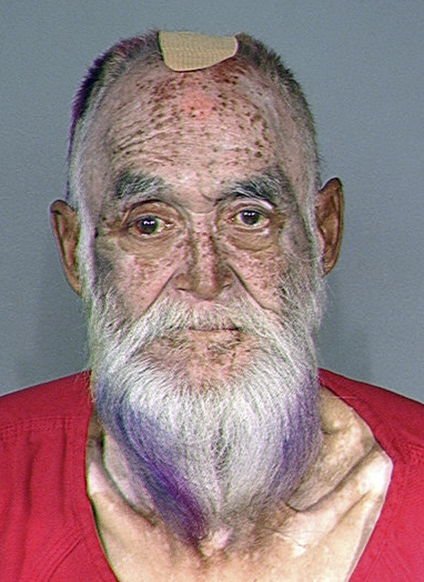 This booking photo released Tuesday, Oct. 16, 2012 by the Maine State Police shows Gary Raub, formerly of Maine, who was arrested in Seattle Monday, Oct. 15 2012, for the 1976 stabbing death of a 70-year-old woman after DNA linked him to the crime.