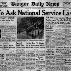 BDN Page from the Past: Jan. 19, 1945
