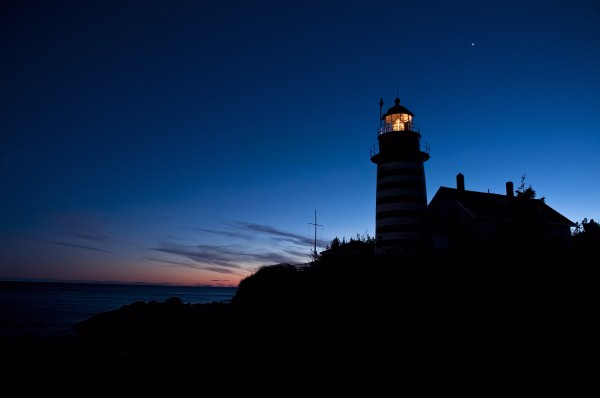 West Quoddy Head Lighthouse,   Lubec, Maine