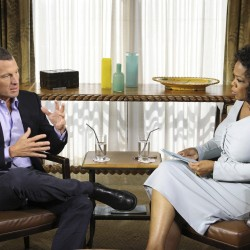 Lance Armstrong confronts doping charges in interview