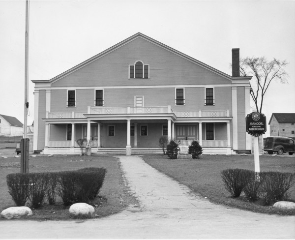 This 1947 shot of the auditorium is after its facelift, which wasn't enough to stop Bangor from surging ahead with the construction of a new auditorium a few years later. Planning began about a year later.