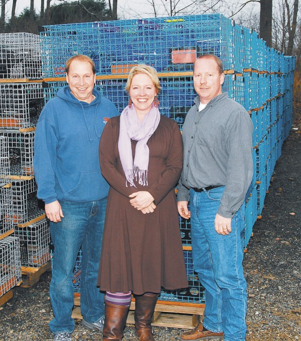 The current owners, Karl's children, are (from left) Stephen Brooks, Julie Brooks Russo, and Mark Brooks.