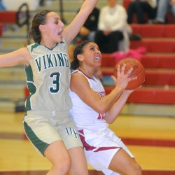 Bangor girls pull out win in overtime