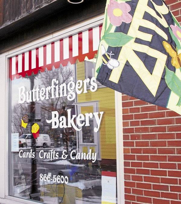 Butterfingers Bakery is located at 19 Mill St., Suite 3 in downtown Orono. Owner Sue Fletcher features fresh-baked pastries and soups, sandwiches, and wraps; the bakery also offers a catering menu.