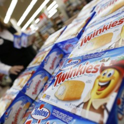 Hostess closing stirs run on beloved treats