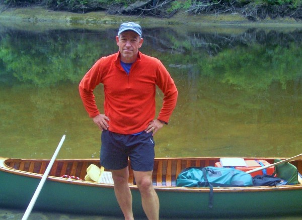 Jim Andrews, who rowed, poled, paddled, pedaled, and hiked the length of Maine, will talk to the public on February 21st at the Bangor Public Library.