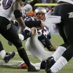 NFL fines Tom Brady $10K for slide