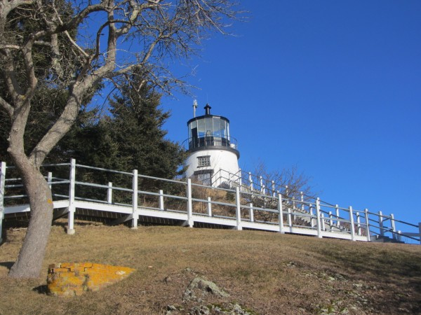The Owls Head Lighthouse.