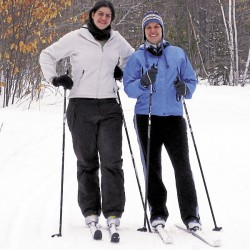 Nordic skiing centers cater to visitors