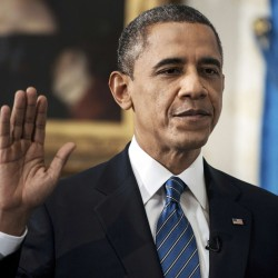 Emboldened President Obama lays out battle plan as he launches second term