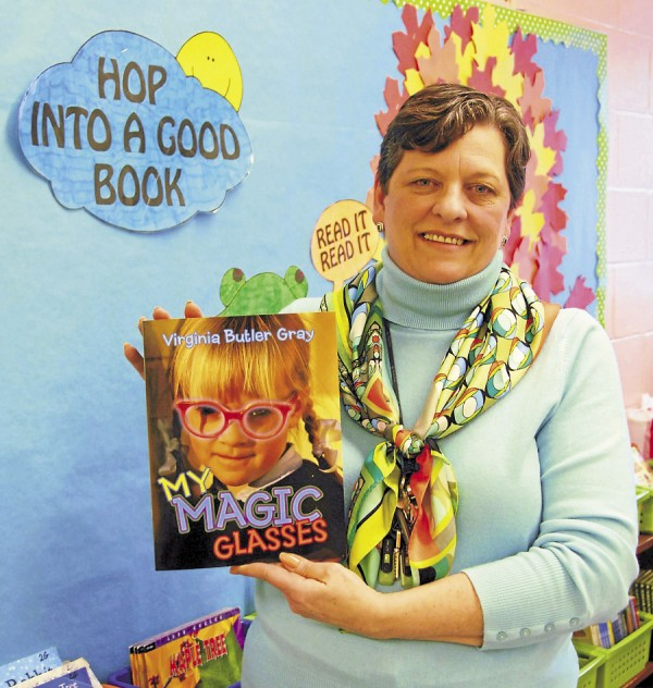 "Hermon resident Virginia Butler Gray, who teaches second grade at the Etna-Dixmont School, has recently published ""My Magic Glasses."" The book blends rhymes and problem-solving skills to teach children how they can take control of their emotions and reactions in different situations."