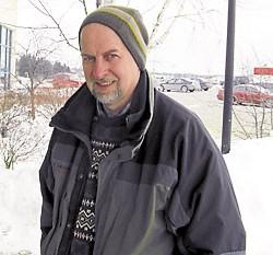 """""""Snowshoeing."""" — Allen Rice, Canaan"""