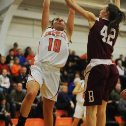 Brewer girls edge rival Bangor 61-57