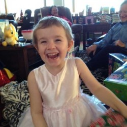 """Danika DeMayo, seriously injured in a car accident on Route 4 in Auburn last August, is now healing and doing well in school. """"We are blessed,"""" her mother, Amy Liberman, said, as DeMayo enjoyed Christmas Day with her family at their home in Bryant Pond."""