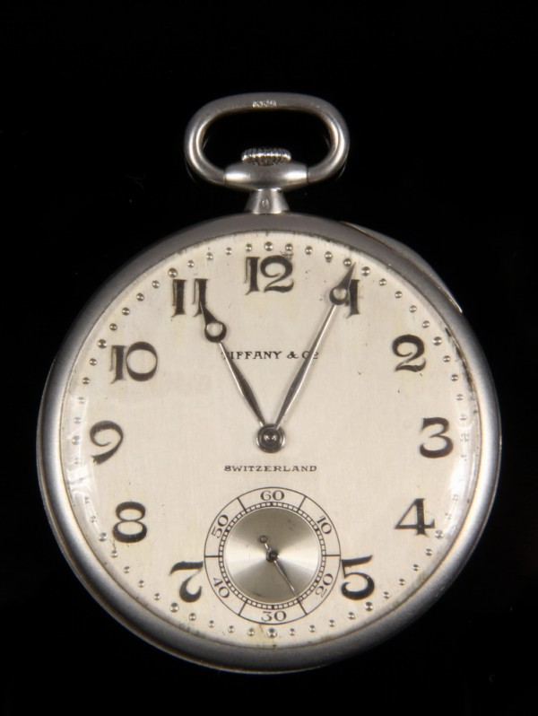 Men's platinum Art Deco pocket watch by Patek Philippe