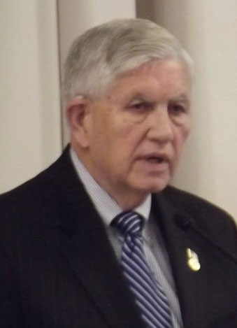 Bangor City Council Chairman Nelson Durgin