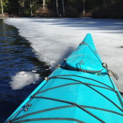 $50 prize for one correct guess on when the ice will open on Washington Pond, off Rt. 17.