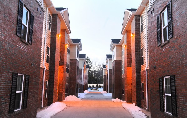 Tenants at the Grove apartment complex in Orono have complained about several problems. Recently electrical and sprinkler system issues surfaced, along with mold and general low quality of workmanship in the buildings. The tenants only moved into the brand new complex in the fall of 2012.