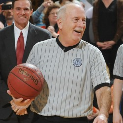 Basketball referee John Shoppe feels 'lucky' after surviving tournament heart attack