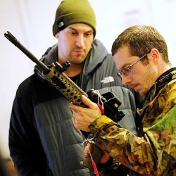 Gun buyers, sellers connect, get checked at JT Reid's first Bangor gun show