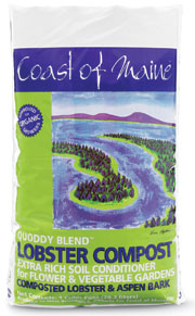 Among the variety of products that Coast of Maine Organic Products produces at its Washington County production facility is Lobster Compost -- made with lobster shells -- soon to be sourced in Hancock County