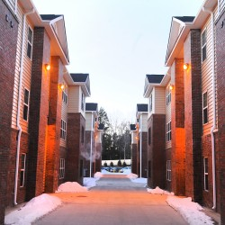 The Grove apartment complex in Orono recently.
