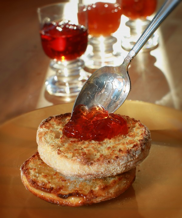 English muffins can be made at home for about $1 per half-dozen.