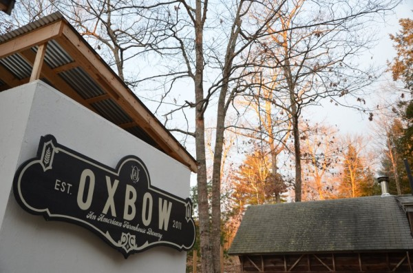Oxbow Brewing makes farmhouse beers on its 18-acre brewery and farm in Newcastle.