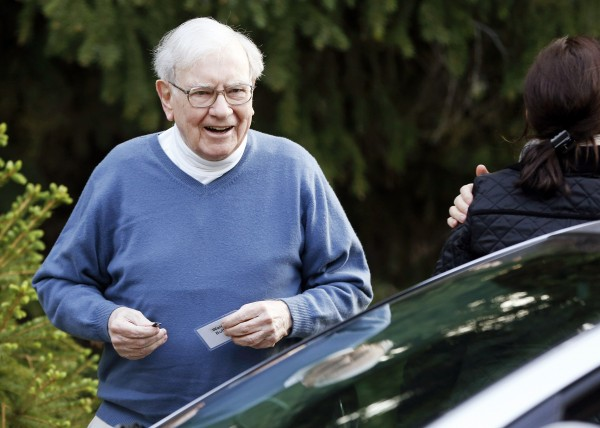 Berkshire Hathaway CEO Warren Buffett attends the Allen & Co. Media Conference in Sun Valley, Idaho. in this July 12, 2012, file photo. Berkshire Hathaway on Thursday said it would partner with 3G Capital to buy Heinz for $23 billion in cash.