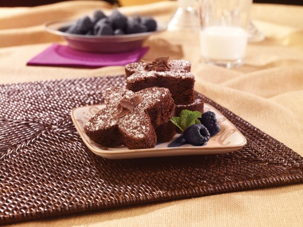 A few liqueur-based treats for Valentine's Day include these Chambord Black Raspberry Brownies.