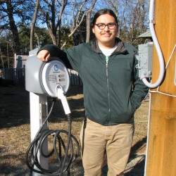 College of the Atlantic offering free electric car charges