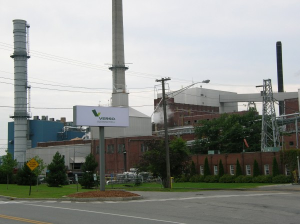 The Verso paper mill in Bucksport.