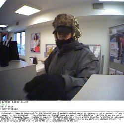 Surveillance images of Waterville bank robbery released