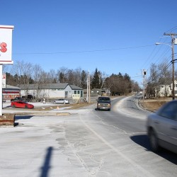 Vehicles drive through Stillwater Avenue in Old Town on Thursday, Deb. 7, 2013, a major thoroughfare for the city.