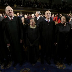 Justice Kennedy's one-man show
