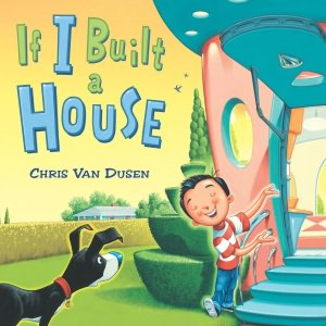 Camden author and illustrator Chris Van Dusen's presentations next week throughout Washington County will include insights into the process by which he wrote and illustrated his newest book, &quotIf I Built a House.&quot