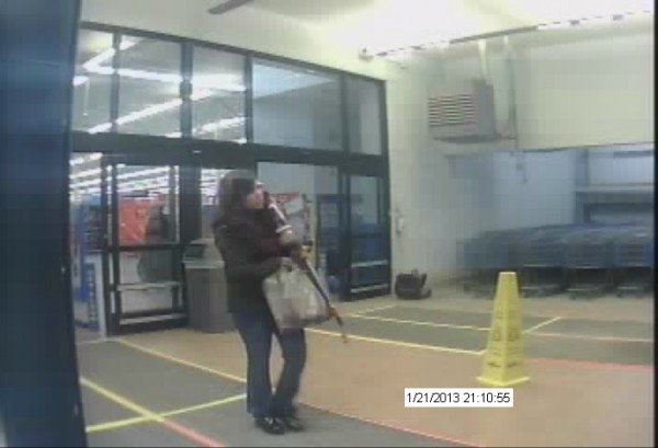 Orono police are seeking a female suspect who used a lost credit card to make purchases at the Bangor Walmart on Jan. 21, 2013.