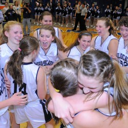 Presque Isle's renewed focus on uptempo offense, pressure 'D' leads to 66-37 girls' basketball win over Hermon