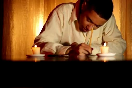 "Hip-hop artist Brandon Aull is pictured in a still shot of the video for his song, ""&quotLiv & Let Liv,&quot"" which memorializes his friend, Alivia Welch."