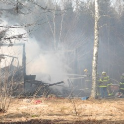 Crews fight fuel tank fire in Searsport