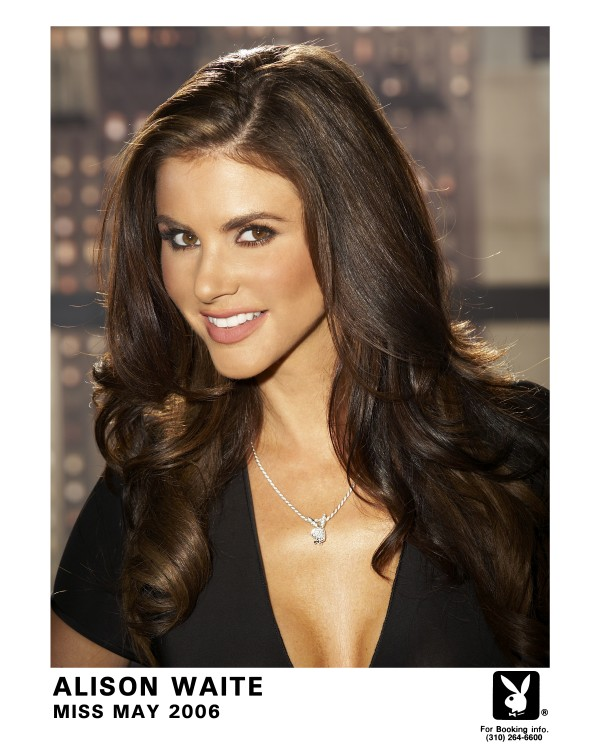 Playboy Playmate Alison Waite will visit Hollywood Casino on March 2.