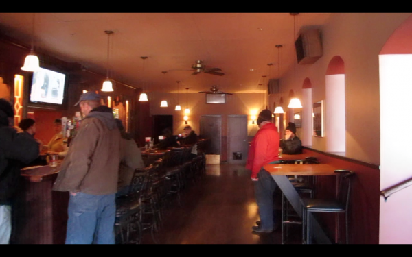 The newly renovated Main Tavern in Bangor.
