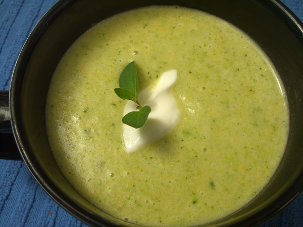 This broccoli cheddar soup comes from &quotSoup's On,&quot by Valerie Phillips.