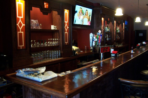 The newly renovated interior of the Main Tavern in downtown Bangor.