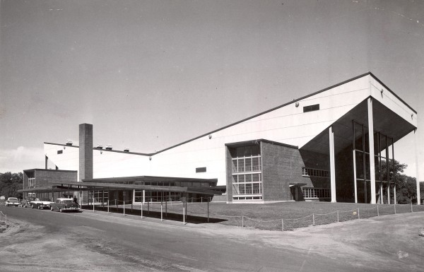 The Bangor Auditorium on April 8, 1959.