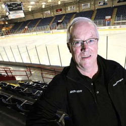 Androscoggin Bank Colisee owner Jim Cain announced Monday that the arena will be host to the 2014 Division III Men's Ice Hockey Championship next March. The venue came out ahead of places like the Lake Placid, N.Y., national training center for the honor.