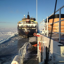 Crew of Maine Coast Guard ice breaker welcomed home from Great Lakes