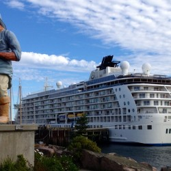Cruise ship visits to Eastport in 2012 considered blind dates with promise